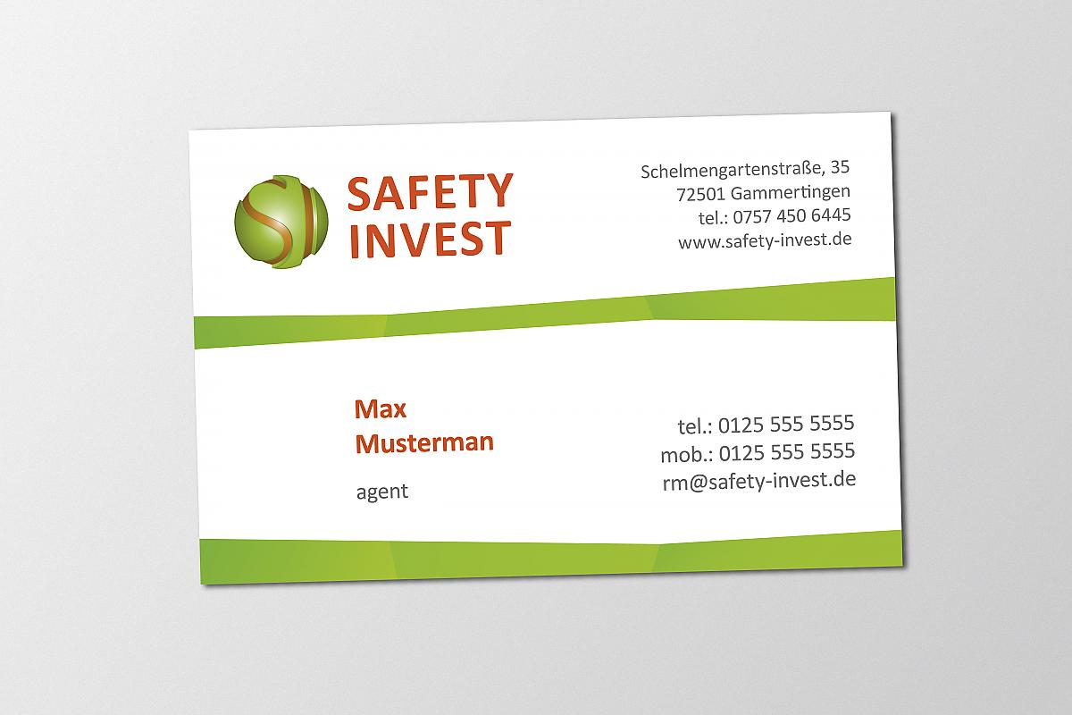 Safety Invest Corporate Design